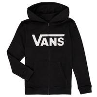 Vêtements Garçon Sweats Vans BY VANS CLASSIC ZIP HOODIE Noir