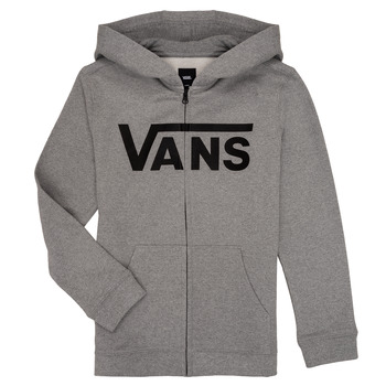 Vêtements Garçon Sweats Vans BY VANS CLASSIC ZIP HOODIE Gris