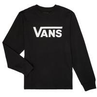 Vêtements Garçon T-shirts manches longues Vans BY VANS CLASSIC LS Noir