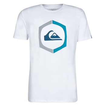 Vêtements Homme T-shirts manches courtes Quiksilver SURE THING Blanc