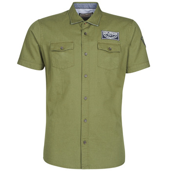 Vêtements Homme Chemises manches courtes Petrol Industries SHIRT SS Greenstone