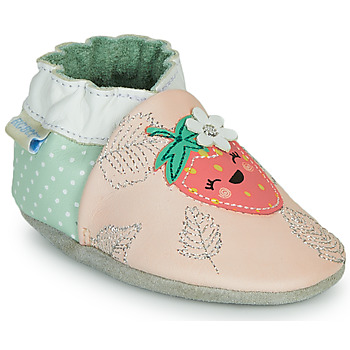 Chaussures Fille Chaussons Robeez FRUIT'S PARTY Rose / Vert