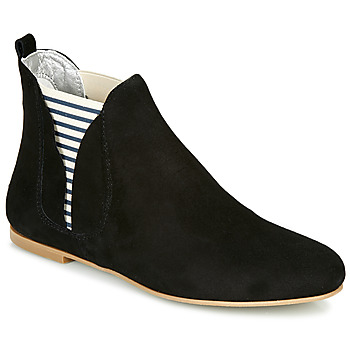 Chaussures Femme Boots Ippon Vintage PATCH FLYBOAT Noir