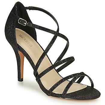 Chaussures Femme Sandales et Nu-pieds Menbur ASTRANTIA Noir