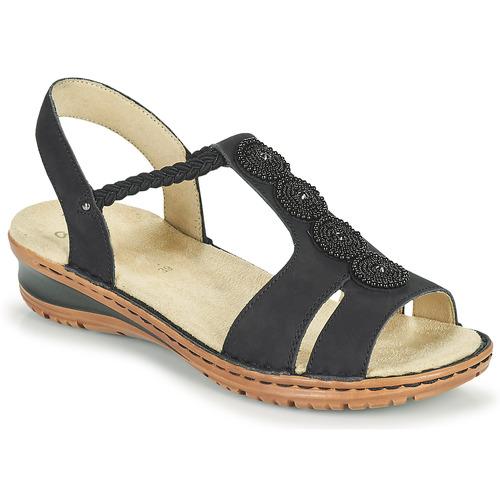 Chaussures Femme Sandales et Nu-pieds Ara HAWAII Noir
