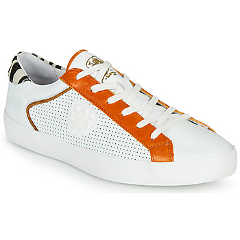 Chaussures Femme Baskets basses Philippe Morvan MADOX Blanc / Rouge