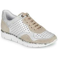 Chaussures Femme Baskets basses Regard JARD V4 CROSTA P STONE Blanc / Beige