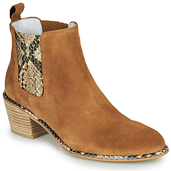 Chaussures Femme Bottes ville Regard NINA V6 PESCA P CUOIO Marron