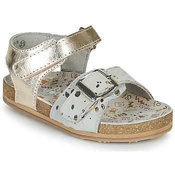 Chaussures Fille Sandales et Nu-pieds Mod'8 KORALY Doré