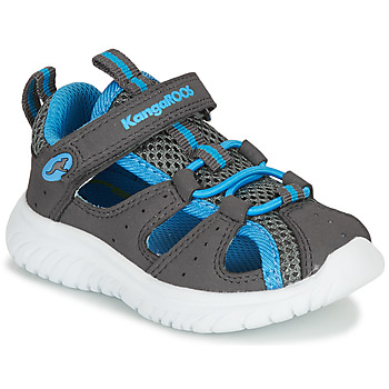 Chaussures Garçon Sandales et Nu-pieds Kangaroos KI-ROCK LITE EV Gris / Bleu