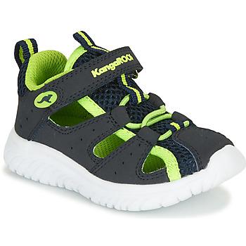Chaussures Garçon Sandales et Nu-pieds Kangaroos KI-ROCK LITE EV Bleu / Jaune