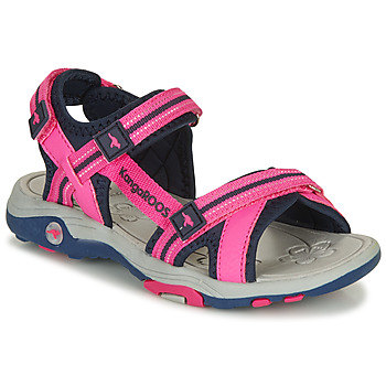 Chaussures Fille Sandales et Nu-pieds Kangaroos K-LENI Rose