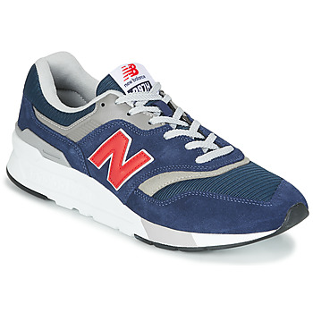 Chaussures Baskets basses New Balance 997 Bleu / Rouge