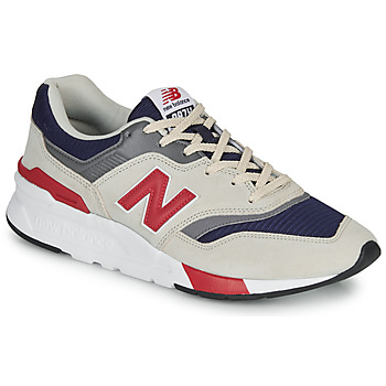 Chaussures Homme Baskets basses New Balance 997 Gris / Bleu / Rouge