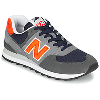 Chaussures Homme Baskets basses New Balance 574 Gris / Orange