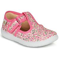 Chaussures Fille Ballerines / babies Citrouille et Compagnie MATITO Rose multicolore