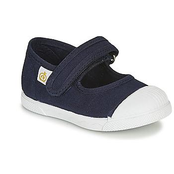 Chaussures Enfant Ballerines / babies Citrouille et Compagnie APSUT Bleu marine