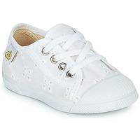 Chaussures Fille Baskets basses Citrouille et Compagnie MALIKA Blanc