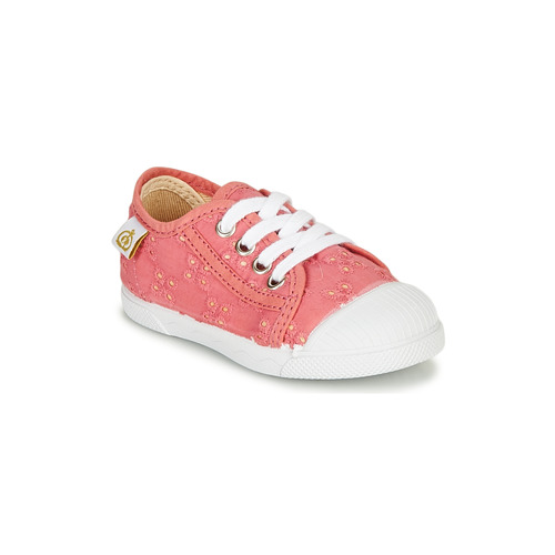 Chaussures Fille Baskets basses Citrouille et Compagnie MALIKA Rose