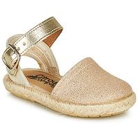 Chaussures Fille Sandales et Nu-pieds Citrouille et Compagnie MIOSOTIS Doré
