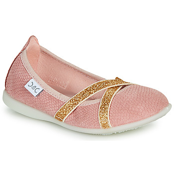 Chaussures Fille Ballerines / babies Citrouille et Compagnie MADY Rose