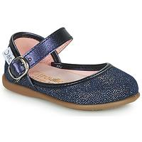 Chaussures Fille Ballerines / babies Citrouille et Compagnie JARITO Marine