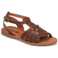 Chaussures Fille Sandales et Nu-pieds Citrouille et Compagnie MINIBOU Marron