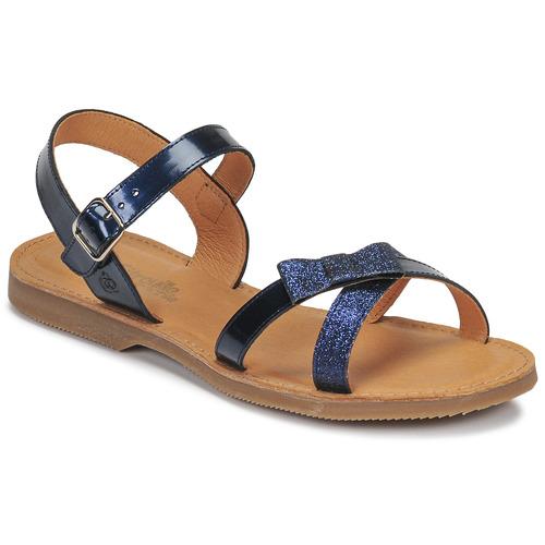Chaussures Fille Sandales et Nu-pieds Citrouille et Compagnie JISCOTTE Marine