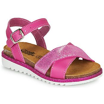 Chaussures Fille Sandales et Nu-pieds Citrouille et Compagnie GAUFRETTE Rose