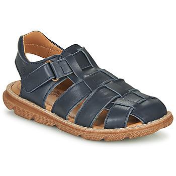 Chaussures Garçon Sandales et Nu-pieds Citrouille et Compagnie GLENO Marine