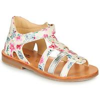 Chaussures Fille Sandales et Nu-pieds Citrouille et Compagnie MIDINA Multicolore
