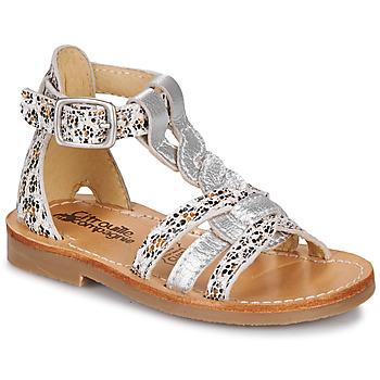 Chaussures Fille Sandales et Nu-pieds Citrouille et Compagnie GITANOLO Léopard