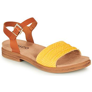 Chaussures Femme Sandales et Nu-pieds IgI&CO 5170711 Cognac / Jaune