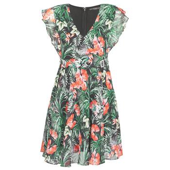 Vêtements Femme Robes courtes Guess EULALIA DRESS Noir / Vert