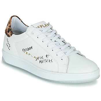 Chaussures Femme Baskets basses Replay MELANIA Blanc