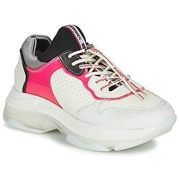 Chaussures Femme Baskets basses Bronx BAISLEY Blanc / Rose