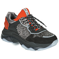 Chaussures Femme Baskets basses Bronx BAISLEY Noir / Orange