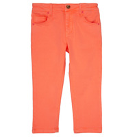 Vêtements Fille Pantalons 5 poches Billieblush / Billybandit NEVA Orange