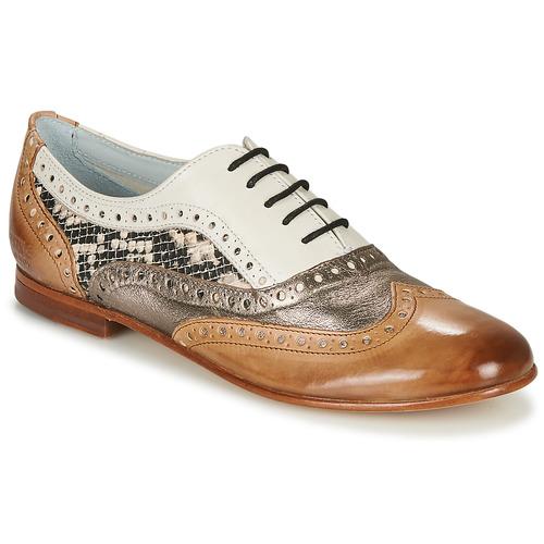 Chaussures Femme Ballerines / babies Melvin & Hamilton SONIA 1 Marron / Beige