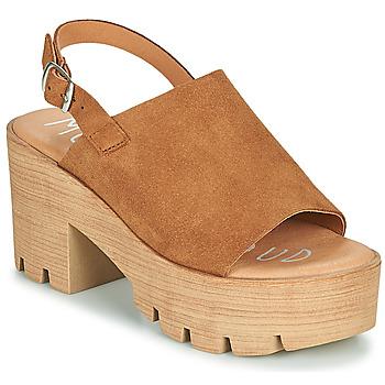 Chaussures Femme Sandales et Nu-pieds Musse & Cloud TAIKI Cognac