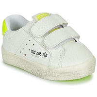 Chaussures Enfant Baskets basses Gioseppo AARLEN Blanc / Jaune