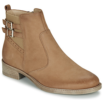 Chaussures Femme Boots André CARLIN Camel