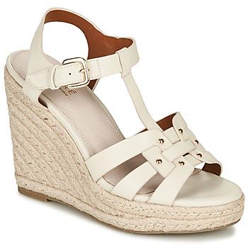 Chaussures Femme Sandales et Nu-pieds André PERLINE Blanc