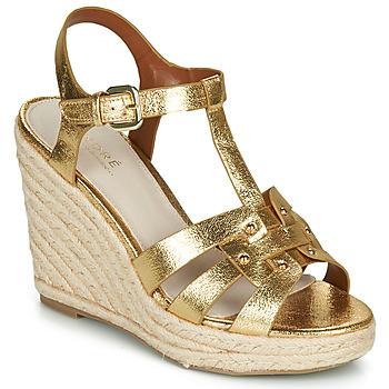 Chaussures Femme Sandales et Nu-pieds André PERLINE Doré