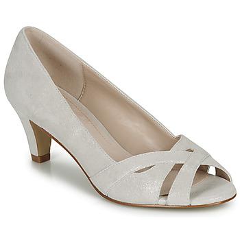 Chaussures Femme Escarpins André JELENA Argenté