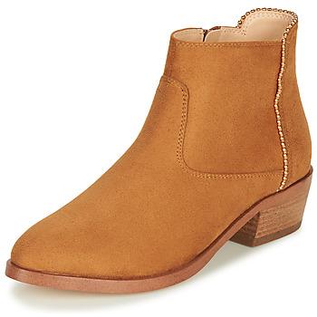Chaussures Femme Boots André BELEN Camel