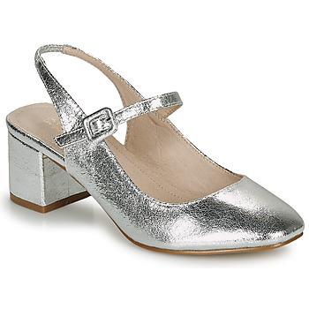 Chaussures Femme Ballerines / babies André JONNA Argenté