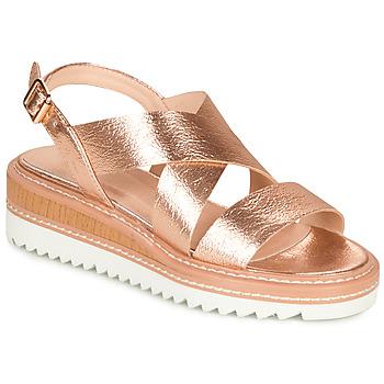 Chaussures Femme Sandales et Nu-pieds André EULALIE Doré