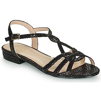 Chaussures Femme Sandales et Nu-pieds André JONETTE Noir