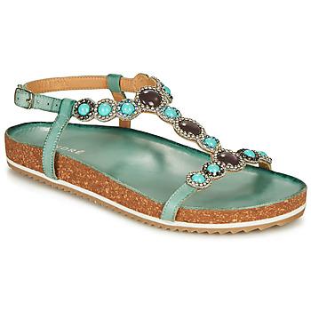 Chaussures Femme Sandales et Nu-pieds André ETHEL Bleu